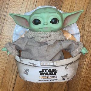 NWT Baby Yoda Plush The Child Mandalorian Star War